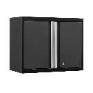 NewAge Products Pro 3 Series 23-1/2 in. H x 28 in. W x 14 in. D 18-Gauge Welded Steel Wall Cabinet in Gray-52000 - The Home Depot