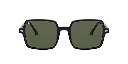 Ray-Ban Square II RB1973-901/31 Gafas de sol, Negro, 53 Unisex