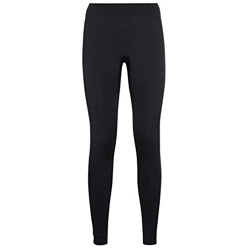 Odlo Women's Performance WARM ECO Base Layer Pants, Black - New odlo Graphite Grey, M, 196201
