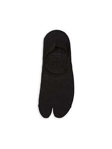 靴下屋 無地足袋深履きカバーソックス 22.0~24.0cm 日本製 フットカバー