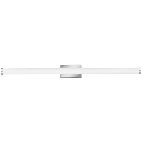 Lithonia Lighting FMVCCL 48IN MVOLT 40K 90CRI KR M4 Contemporary Cylinder 4-Foot 4K Led Vanity Light, Chrome