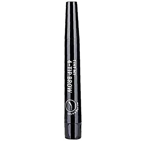 Crayon à sourcils, pointe de pointe durable, crayon de sourcils de sourcils liquides, maquillage à sourcils, noir naturel, règle de sourcil