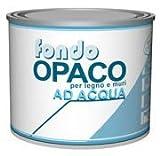 AREAFOND OPACO Fondo ad acqua per legno e muri. CF DA 500 ML COLORE BIANCO