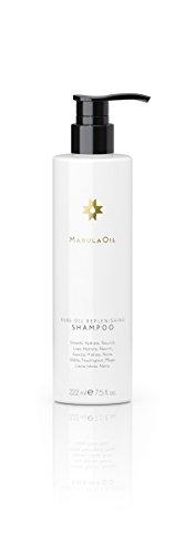 Paul Mitchell MarulaOil Rare Oil Replenishing Shampoo - Haarpflege-Mittel mit farbschonender Rezeptur, pflegende Haarwäsche ideal für trockenes Haar, 222 ml