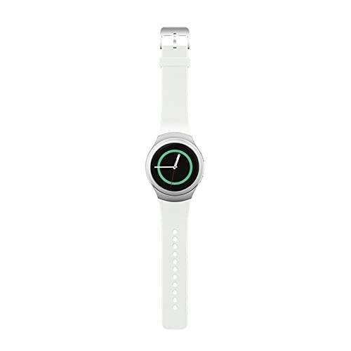 XUEMEI Silicone Smart Watch Band Correas De Colores Sólidas para Samsung Gear S2 SM-R720 SM-R730 Pulsera Deportiva Correa Adulto (Color : 2)