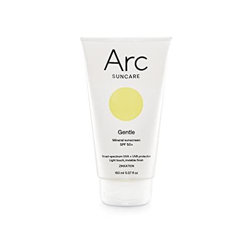 ARC SUNCARE • 100% Mineralischer Sonnenschutz mit Vitamin E Antioxidant • SPF/LSF 50+   PA++++ Für Gesicht und Körper für sensible Haut • Parfumfrei & Wasserfest...