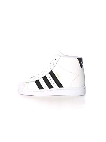 adidas Superstar UP W, Scarpe da Ginnastica Donna, Ftwr White/Core Black/Gold Met, 40 EU