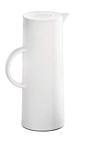 Esmeyer Isolierkanne Manhattan, Inhalt 1 Liter, weiß, Kunststoff, 11 x 11 x 29 cm