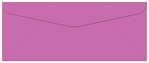 Note Card Cafe Colored Letter Envelopes #10 | Plum Purple | 100 Pack | 9.5 x 4.125 in | Press, Seal Flap | for Business, Letters, Greeting Cards, Thank You Notes, Mailing Invitations, Documents