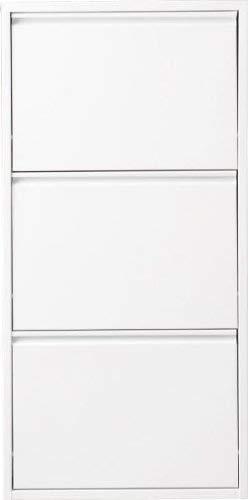 simple..*M* 4001070443366 Schuhklapper, 50 x 15 x 105 cm, metall / weiß