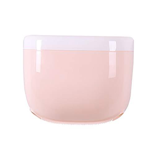 Waterdicht toiletpapier houder mobiele telefoon opslag plank muur gemonteerd rack badkamer wc organisator accessoires A roze