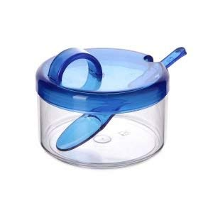 Tatay Azucarero, Libre de BPA, Long Life, de Plástico. Color Azul. Medidas 14 x 10.5 x 9