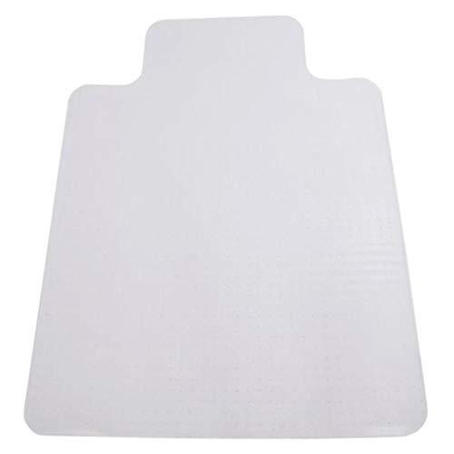 Fenteer Alfombrilla de silla de oficina para alfombra Protector de suelo irrompible para alfombra de pila baja y media, transparente - 12x9cm