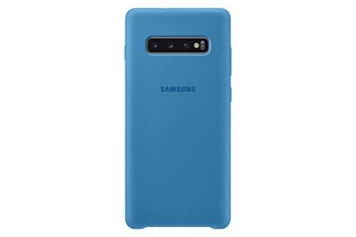 Samsung Silicone Cover, funda oficial para Samsung Galaxy 10+, color azul