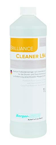 Berger-Seidle Cleaner L94, wasserbasierter Wachsentferner zur Entfernung verschmutzter Selbstglanzpflegefilme bzw. alter Wachsschichten (1 Liter)