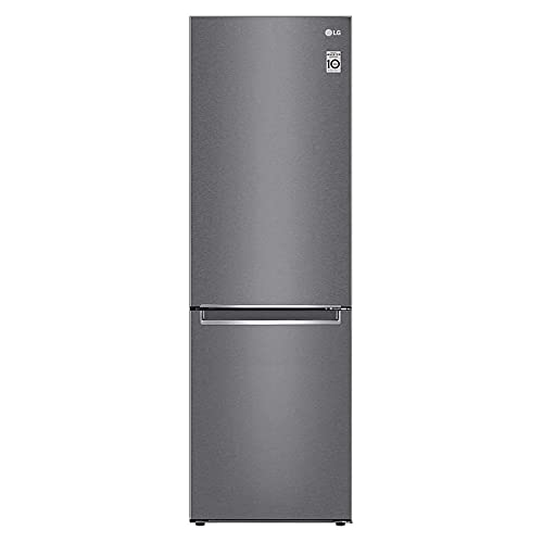 LG NatureFRESH GBB61DSJEN 60/40 Fridge Freezer - Graphite
