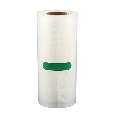 QiKun-Home Haushaltsnahrungsmittel Vakuumverpackungsbeutel für Vakuumnahrungsmittel Frisch aufbewahren Langer Frachtbeutel 12/15/20/25/28 cm * 500 cm 1 Rolle transparent 12 * 500 cm