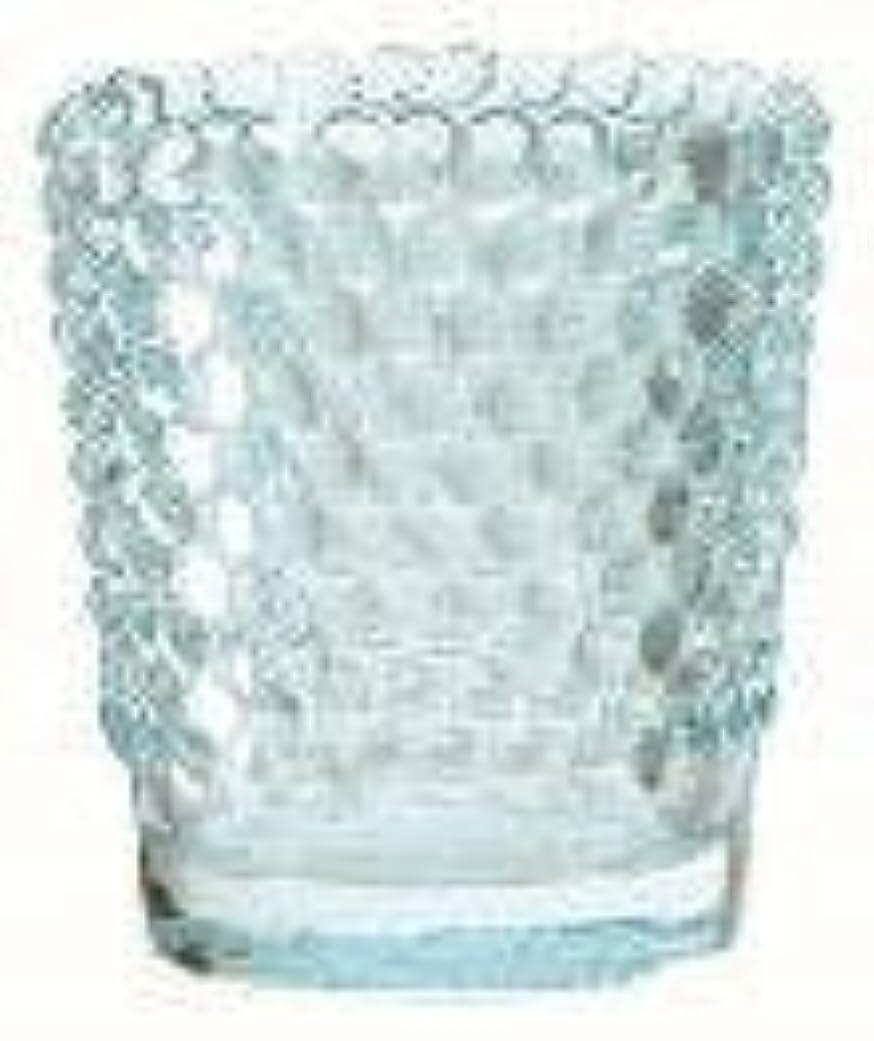 アレンジ悪名高い戻るカメヤマキャンドル(kameyama candle) ホビネルグラス 「 サファイア 」6個セット