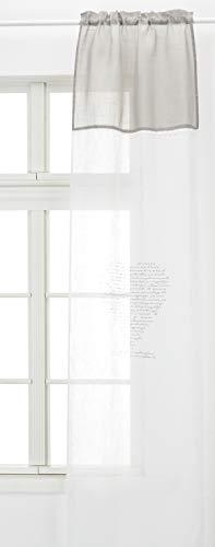 tende soggiorno 60x240 Home Collection TCCUO129/240 Tendina Coppia Cuore