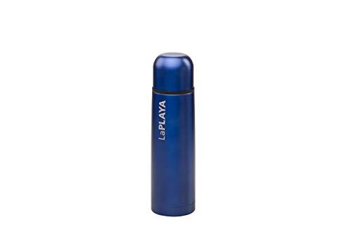 LaPlaya Thermoproducts 10 532101 Mercury Thermoedelstahlflasche 0,7 L, blau/grau,