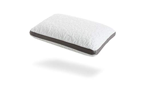 Perfect Cloud Double Airflow Ventilated Memory Foam Bed Pillow for Sleeping - 5.5-inch Breathable Cooling Medium-Loft (Standard)
