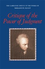 Critique of the Power of Judgment (…