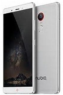 (大容量4000mAh 4GB RAM + 64G ROM)ZTE Nubia Z11 Max SIMフリースマホ 64-bit Qualcomm Snapdragon 652(Android L)高画素16MP× 8MPグローバルモデル(日本語対応)(4G+64G, シルバー)