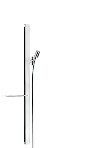 hansgrohe Duschstange Unica E (0,90 m mit Duschschlauch) Weiß/Chrom