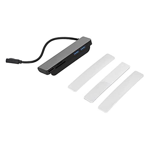 Adaptador De Concentrador USB 3.0 USB A HDMI 4K, Tipo C USB3.0 + Tarjeta De Memoria Puerto De Tarjeta De Almacenamiento Estación De Acoplamiento De Expansión PD