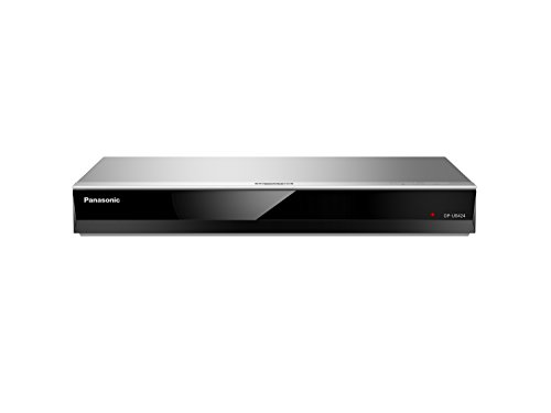 Panasonic DP-UB424EGS Ultra HD Blu-ray Player (4K Blu-ray Disc, 4K VoD, DLNA, 2x HDMI, USB, Alexa Sprachsteuerung, silber)