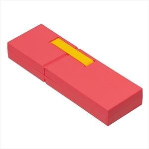 (業務用セット)ナカバヤシ ディスプレイペンケース Mサイズ ピンク PCN-DP02 PN【×3セット】