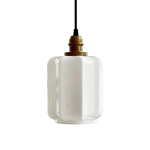 Lampadari, illuminazione a soffitto, adatto per lampadari moderni lampadari a LED in soggiorno, sala da pranzo, camera da letto, corridoio retrò vetro rame lampada