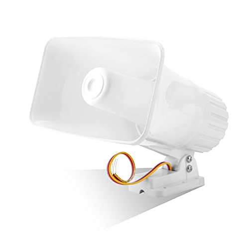 Electronic Alarm Siren Horn for Home Security System