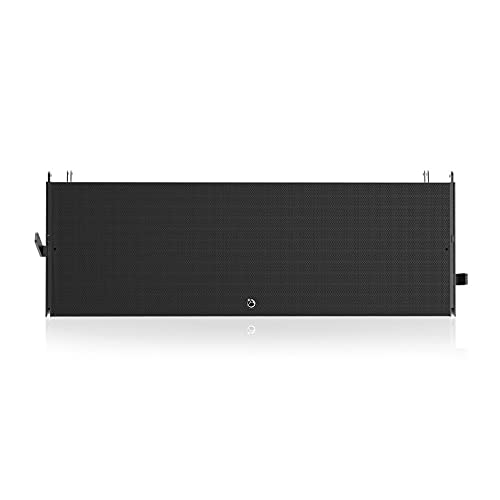 AtlasIED AL123A-B Dual 12-Inch 3-Way Powered Large Format Line Array Speaker