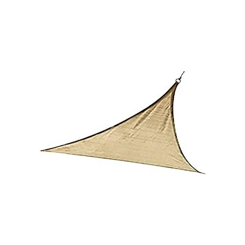 TGUS Sombrilla velas, parasol, antiultravioleta, toldo de toldo, transpirable y resistente al viento, para jardín terraza césped (beige, tamaño: tipo 2)
