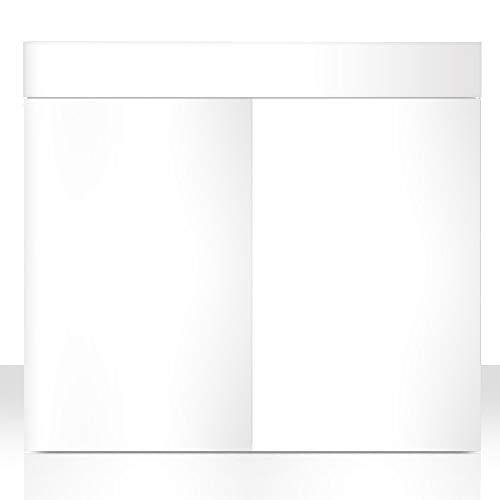 Amtra Support pour Aquarium Station 90 x 45 cm Blanc/Hauteur 80 cm