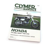 Clymer Manual - Fits Honda 125-200cc Twins - 1965-1978 - Service Repair Manual