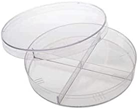 Advantec 800101 Petri Dish with Cellulose Pads 100//pk 50 mm Dia x 11 mm H