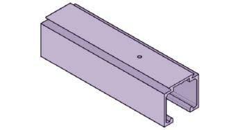 Koblenz - Kit de Sistema Deslizante para Puertas con riel de 230 cm, 40 kg: Amazon.es: Hogar