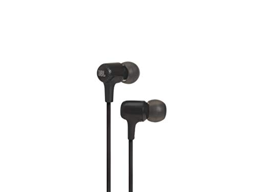 JBL E15 in-Ear Headphones with Mic (Black)