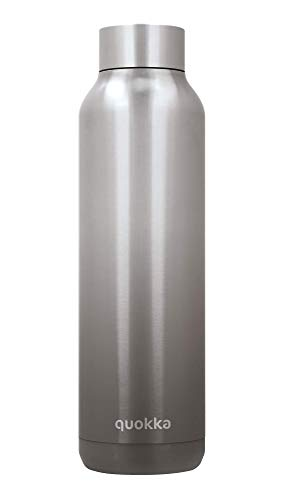 Quokka Solid - Umbra 630 ML | Botellas De Agua Acero Inoxidable Sin BPA |Botella Térmica De Doble Pared - Mantiene el frío y el Calor para Niños y Adultos