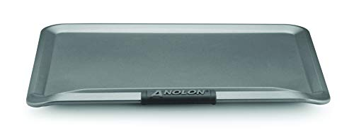 Anolon Advanced Nonstick Bakeware with Grips, Nonstick Cookie Sheet / Baking Sheet - 14 Inch x 16 Inch, Gray,54717