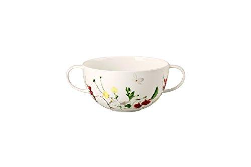 Rosenthal Brillance Fleurs Sauvages Taza de Consomé, Porcelana De Hueso, Multicolor, 15x15x5...