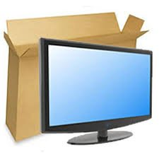 Double Wall Cardboard TV box with Bubblewrap (24' up to 52')...