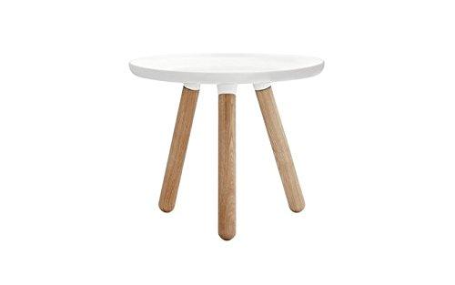 Normann Copenhagen – Tablo Table – Tavolino – Piccolo – Bianco – Ø 50 cm –...