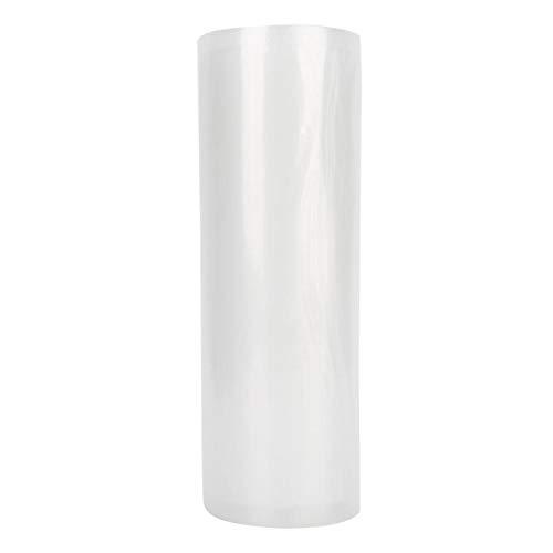 CjnJX-Vases 1 Rollo de Bolsa de Sellado de Alimentos al vacío de Puntos Finos Rollo de sellador de Bolsas de Embalaje de Almacenamiento comprimido para máquinas de vacío.(25 * 500 cm)