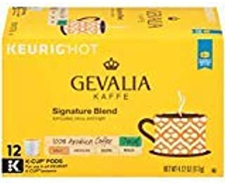 Gevalia Decaf Mild Signature Blend Keurig K Cup Coffee Pods (12 Count)