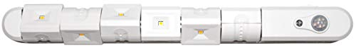 Northpoint LED Sensorleuchte 180° 6x Leuchten Lichtleiste mit Dämmerungssensor und verstellbarem Bewegungsmelder