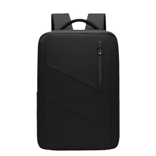 LWGW Business Rucksack 15,6 Zoll Haarschutzwasser Rucksack(schwarz)