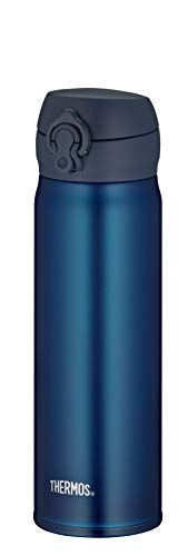 Thermos thermosfles, roestvrij staal blauw, 500ml